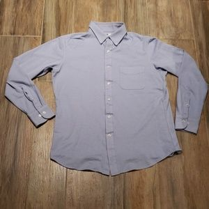 Uni Qlo Slim Fit Button Up Shirt Long Sleeve